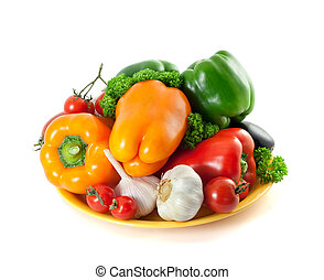 Healthy Eating. Fresh Vegetables.
