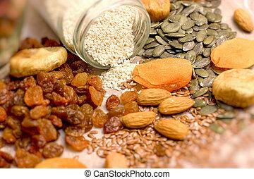 Healthy eating, healthy diet, healthy organic food on table
