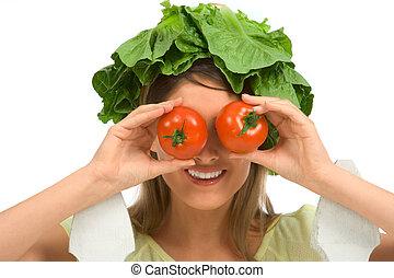 Healthy eyeglasses
