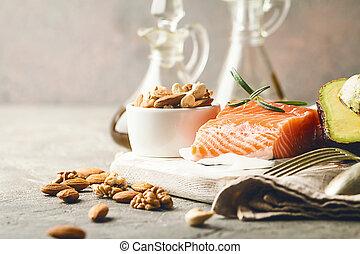 Healthy fats in nutrition. - Healthy fats in nutrition -...