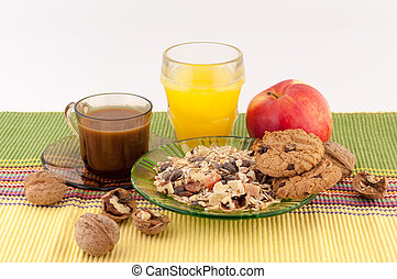 Healthy Food and Coffee