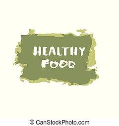 Healthy Food  banner. Vector illustration.