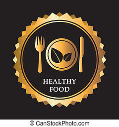 healthy food design , vector illustration