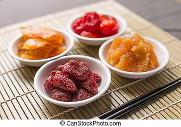 Healthy food, Dried fruit