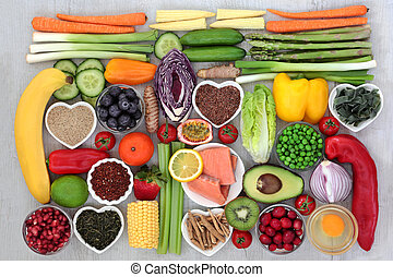 Healthy Food for Fitness - Healthy food concept for fitness...