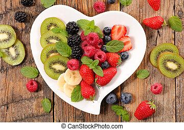healthy food, fruit