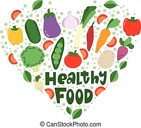 Healthy Food Heart