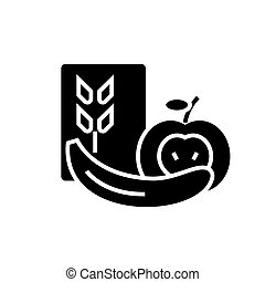 Vegetarian food sign illustration  maroon icon on