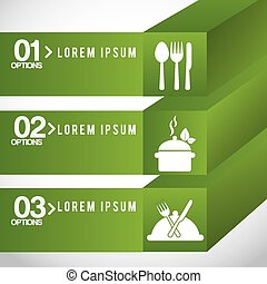 healthy food infographics design, vector illustration eps10...
