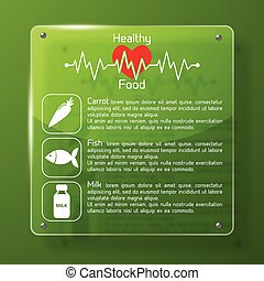 Healthy Food Infographics Layout