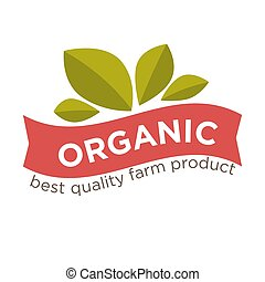 Healthy food product vector package isolated label or icon