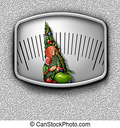 Healthy Food Scale