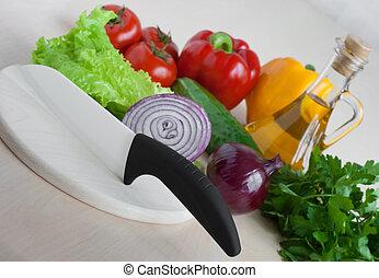 Healthy food still life
