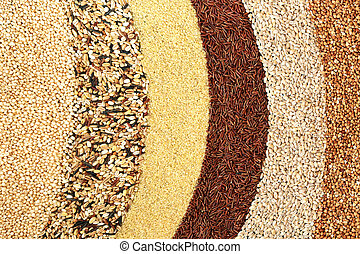 Healthy Food with Super Grains