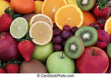 Healthy Fresh Fruit Selection