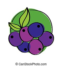 healthy fruit icon