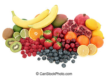 Healthy Fruit Superfood Selection