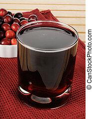 Healthy glassof juice
