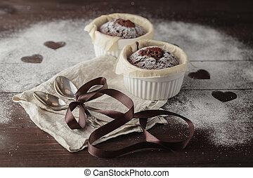 Healthy gluten free chocolate cupcakes