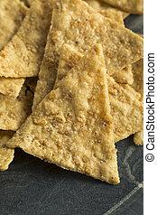 Healthy Gluten Free Rice Chips