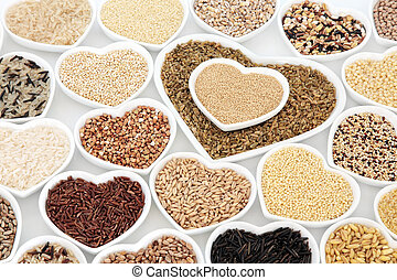 Healthy Grain Food Selection