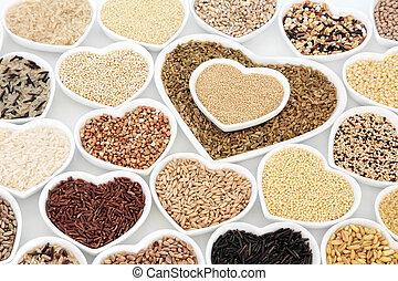 Healthy Grain Food Selection