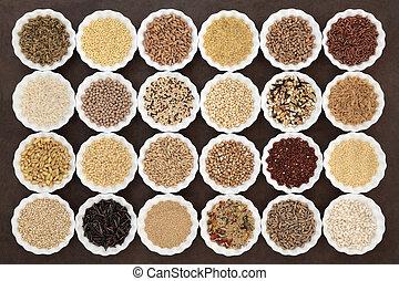 Healthy Grains and Cereals