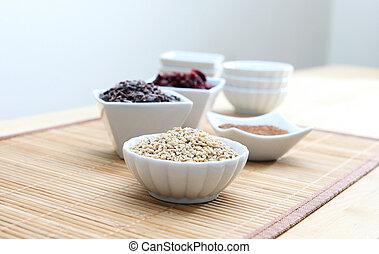 Healthy Grains and Ingrediends