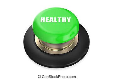 Healthy Green button
