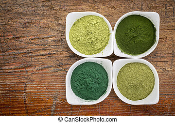 healthy green dietary supplements - four healthy green ...