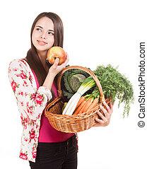 Healthy groceries.