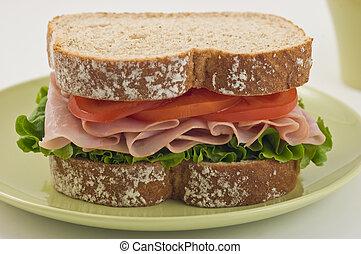 Healthy Ham sandwich
