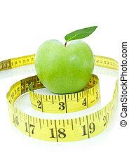 Healthy heart apple
