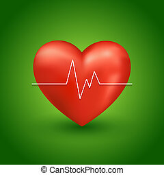 Healthy heart beat