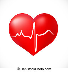 Healthy Heart icon on white background