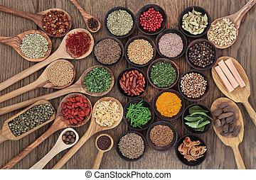 Healthy Herbs and Spices - Large herb and spice selection in...