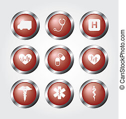 healthy icons