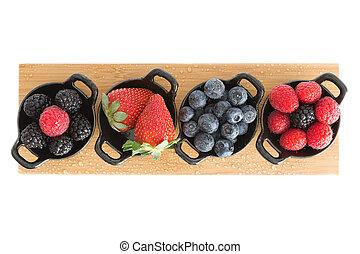 Healthy juicy autumn or fall berries