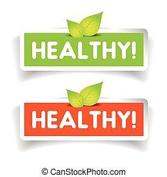 Healthy label vector set