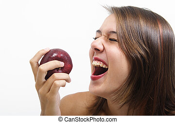 Healthy Laughter - Healthy eating makes for a happy mind and...