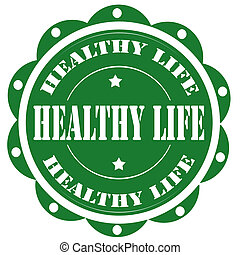 Healthy Life-label