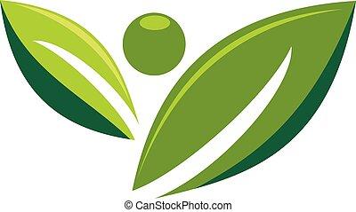 Healthy Life Logo Design Template Vector