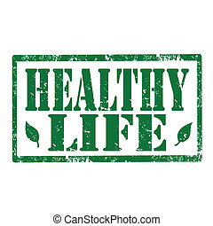 Healthy Life-stamp