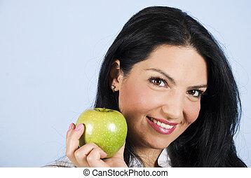 Healthy life woman