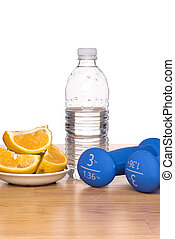Healthy lifestyle - A conceptual image of healthy living ...