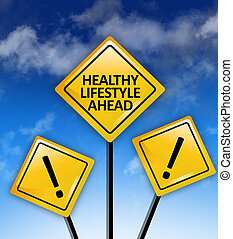 Healthy lifestyle ahead