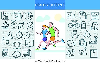 Healthy lifestyle banner2