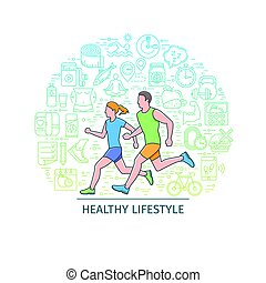 Healthy lifestyle banner3