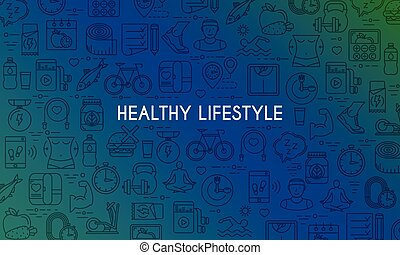 Healthy lifestyle banner4