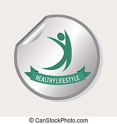 healthy lifestyle design - healthy lifestyle graphic design...